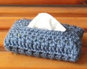 Travel-Size Tissue Cover (Country Blue)