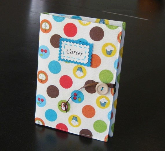 carnival fun personalized brag book