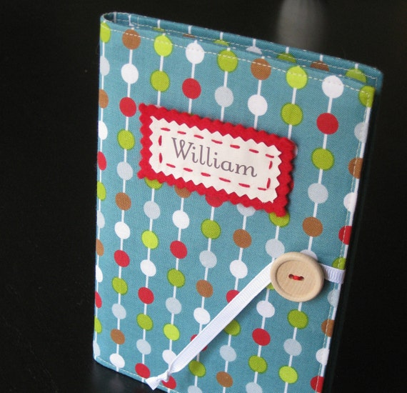modern dotty personalized brag book