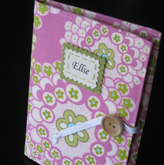 pink bubbles personalized brag book