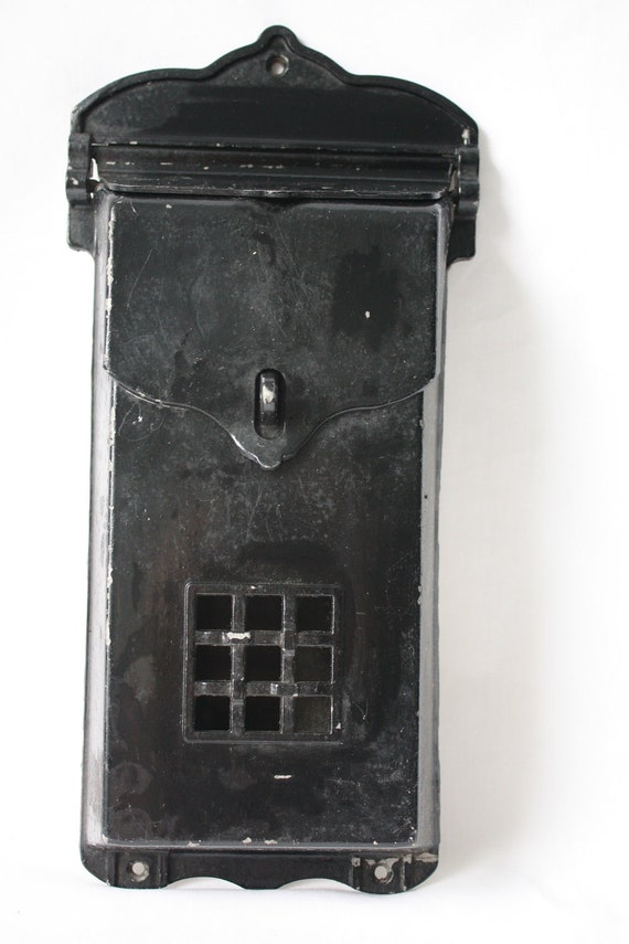Metal Mailbox By H B Ives Co Of New Haven Ct