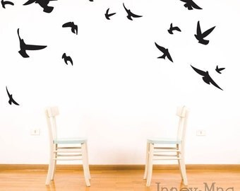 Popular items for bird wall decal on Etsy