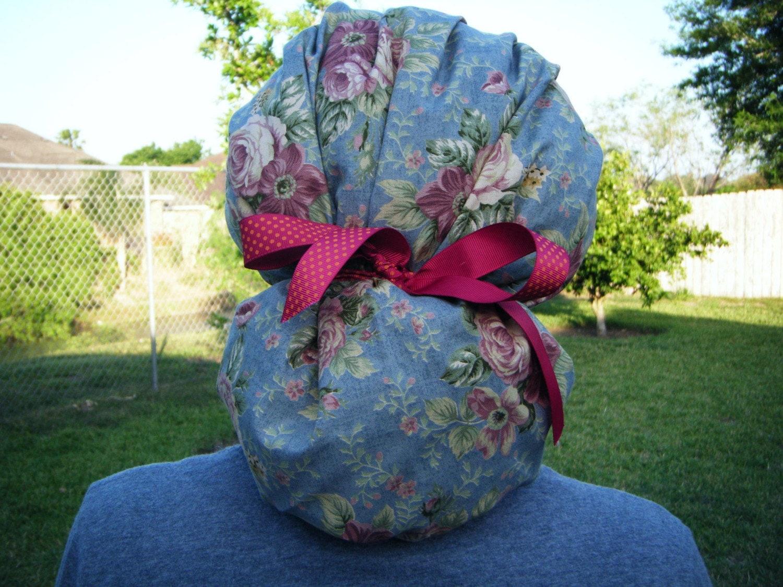 New Ponytail Bouffant Scrub Hat Sewing Pattern By