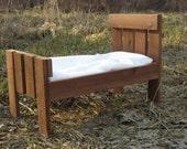 Sale Cedar Newborn Photo Prop Bed