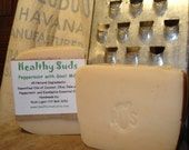 Peppermint and Eucalyptus with Goats Milk handmade soap