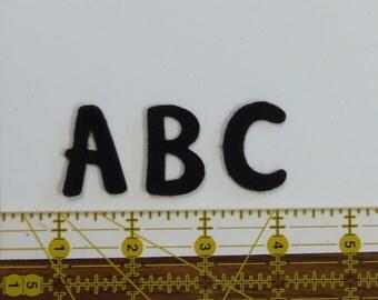 Alphabet Beary Framed 1.25 inches craft felt your color choice