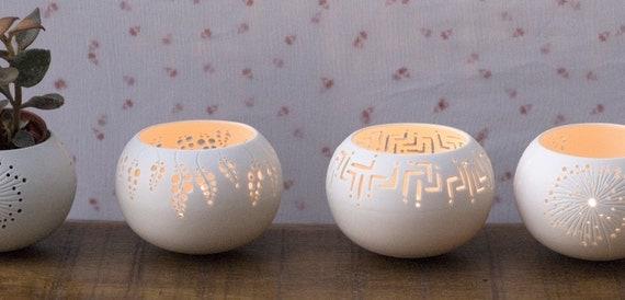 Porcelain Tea light Delight N.7. Design by Wapa Studio.