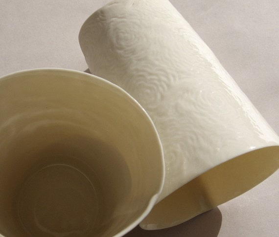 P-Cup. Caressing porcelain cup. Design by Wapa Studio.