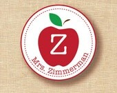 Personalized Stickers teachers and students set of 12