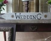 SALE...Wedding Sign