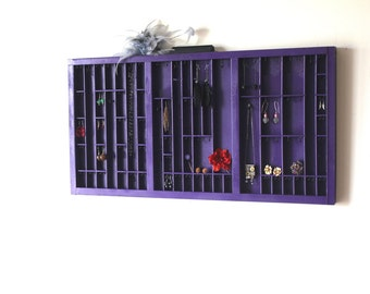 Grape Purple Jewelry Display