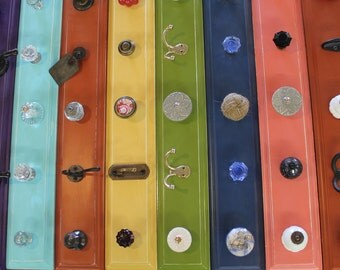 Vibrant Colored Hook Rack - pick one