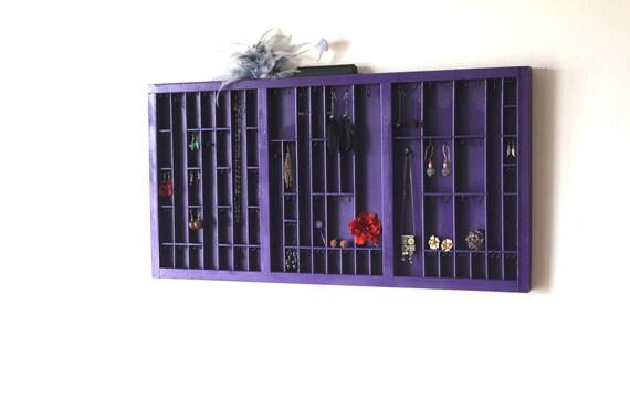 Grape Purple Jewelry Display