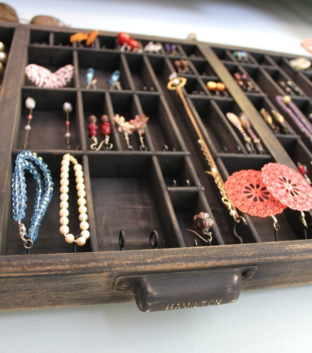 Reused Jewelry Organizer Drawer By Bluebirdheaven