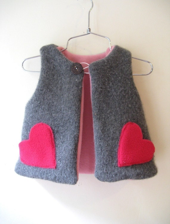 Boy/girl chic vest- Instant download - 12m to 7T- Easy pattern system-