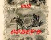 Christmas with Godey's Lady's Book - Victorian Stories and Crafts eBook