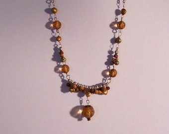 Amber Jewel necklace