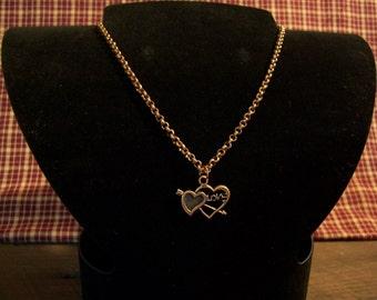 Copper Heart (Love) Necklace