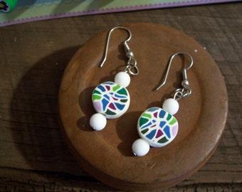 Designer Polymer Clay earrings