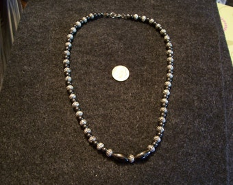Gorgeous Magnetic Hematite Necklace