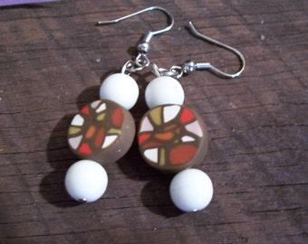Polymer Clay Designer earrings
