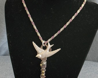 Fly Away Key Necklace
