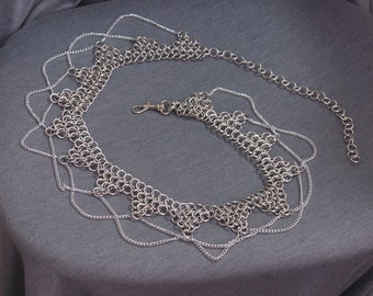 Chainmaille Belly Dancer Belt (any size)