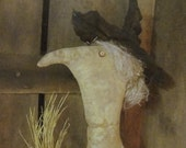 Eleanor Higgins,  A Primitive Folkart Witch Pattern