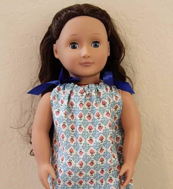 18 Inch Doll Pillowcase Dress PDF Pattern