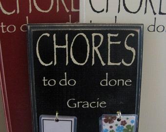 Chore Board - Medium (3 or 4 names)