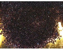 Size 18/0 Vintage Amethyst Glass Seed Micro Beads