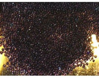 Size 18 Vintage Amethyst Color Glass Seed Micro Beads