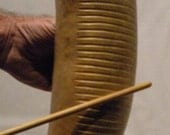 Guiro -  Hand Carved Percussion Instrument