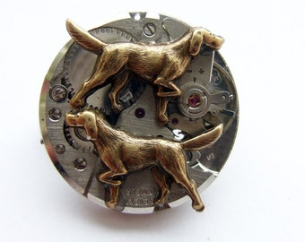 The clockwork dogs will sniff you out