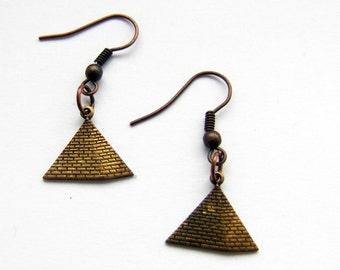 Pyramid earings