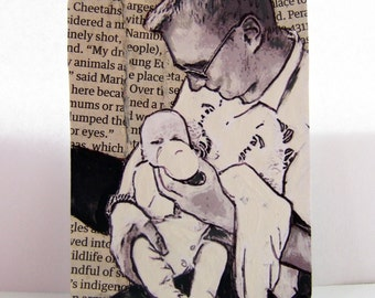 Dad, ACEO print