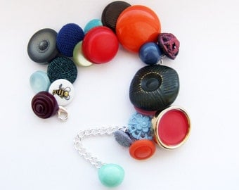juicy spring bright buttontastic bracelet