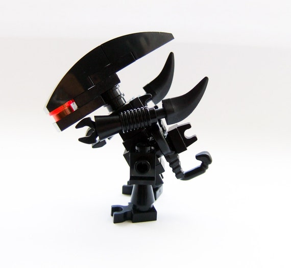 Alien movies, custom made LEGO Gieger minifig