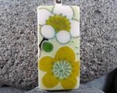 SALE Green Duo - A Mini Domino Necklace in a Tin