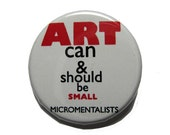 Micromentalist Manifesto Button
