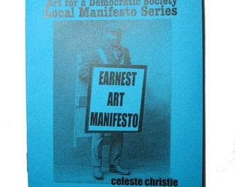 Earnest Art Manifesto