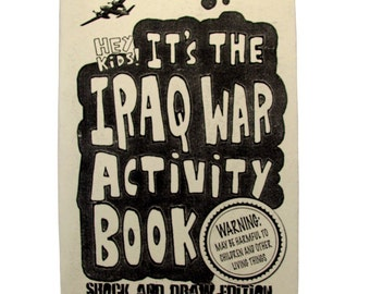 Iraq War Activity Book - Shock and Draw Edition