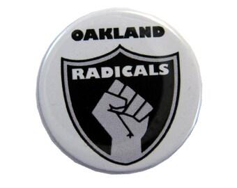 Oakland Radicals Button