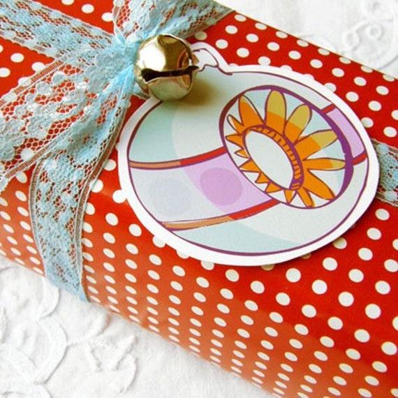 Printable Gift Tags - Grandpa's Ornaments