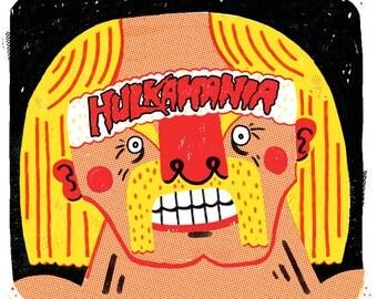 Hulk Hogan Hulkamania Print