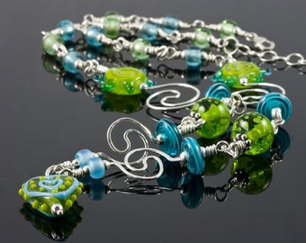 Summer Swirls Necklace