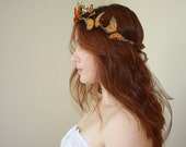 FLUTTER. monarch butterfly whimsy crown