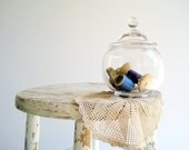 Vintage Apothecary Jar / Desk Accessory / Home Office, Kitchen