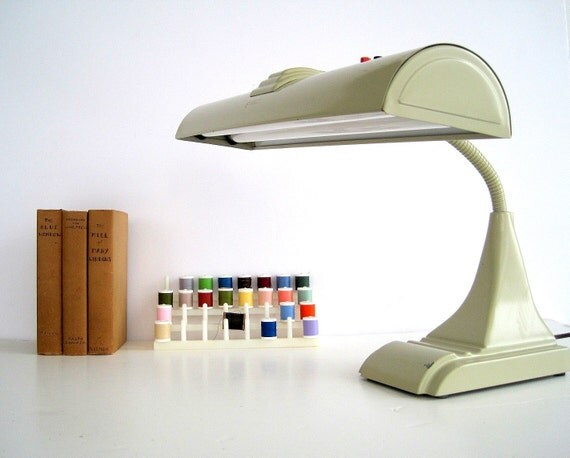 Vintage Industrial Deco Style Desk Lamp