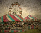 Buy 1 Get 1 FREE Sale County Fair I - 8x12 Fine Art Photograph fathers day graduation gift
